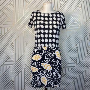 Diane von Furstenberg Yuta Geometric Shift Dress